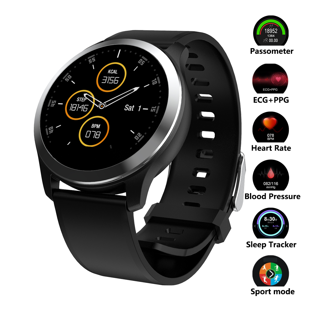Smart Watch ECG+PPG Fitness Watch Heart Rate Monitor Blood Pressure Smartwatch Sport Watch for Android IOS Phone screenshot