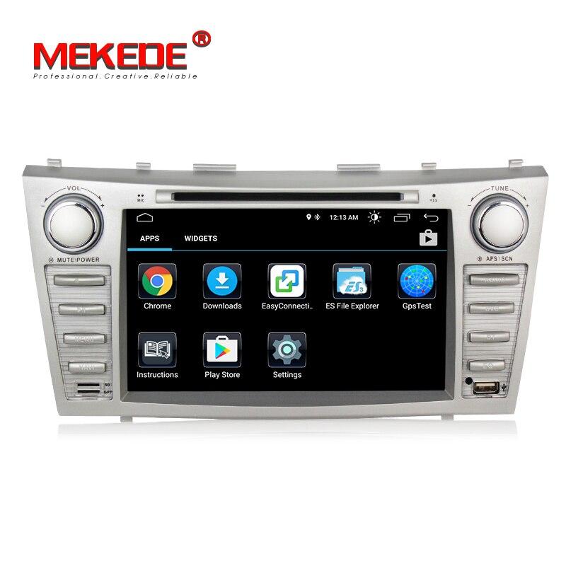 Vente chaude! Meilleur lecteur de radio dvd de voiture Android 8.1 pour Toyota camry 2007 2011 voiture dvd multimédia GPS navigation wifi bluetooth - 5
