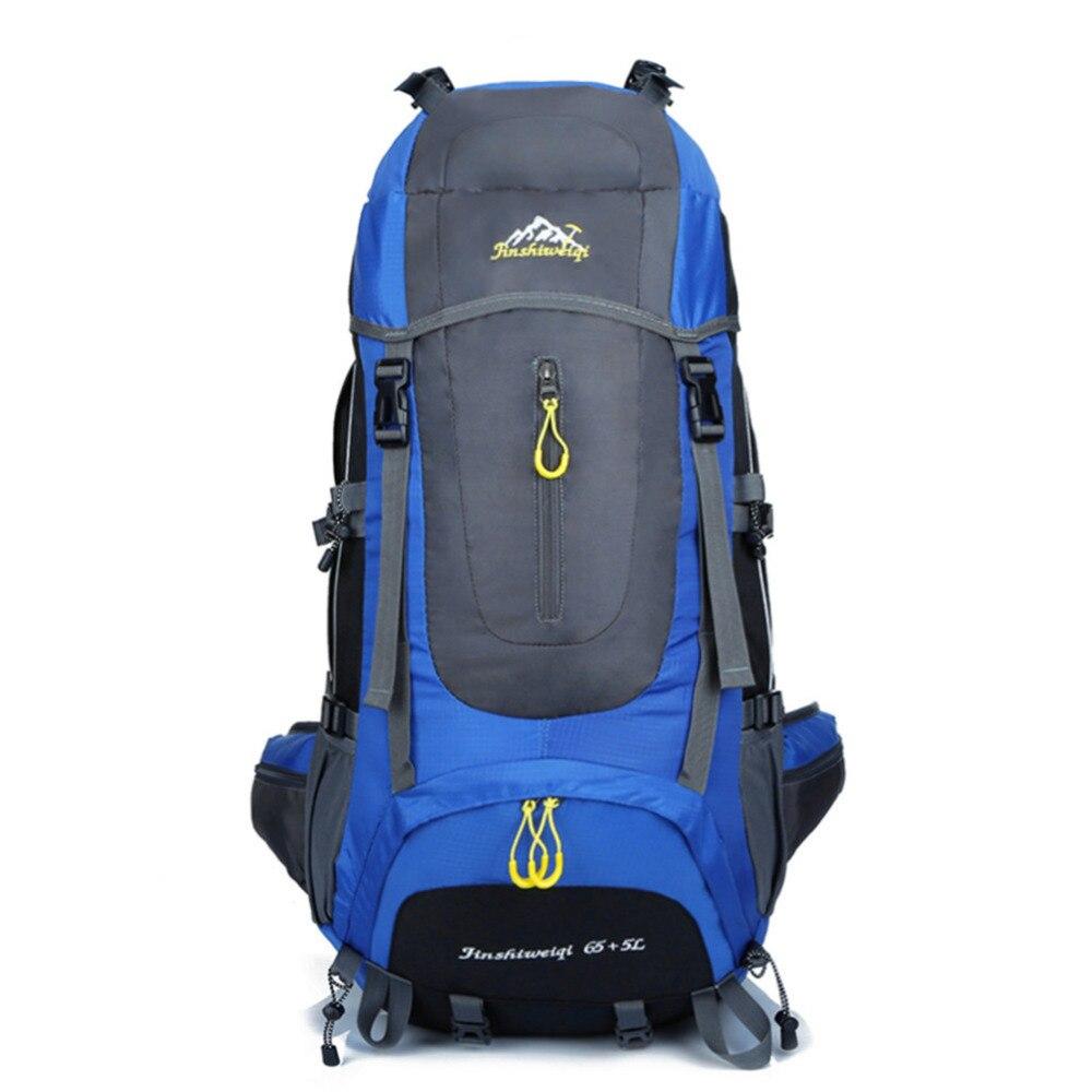 Prix pour 70L 5 couleurs grand Alpinisme sac à dos en plein air sac à dos étanche voyage escalade camping étanche sac