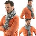 Nuevos hombres de Invierno cálido bufanda Masculinos pashminas casual offical caso Chorlito tejer Bufandas silenciador chales y bufandas echarpe homme