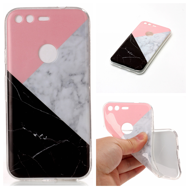 For Google Pixel / Pixel XL Case Cover Tpu Soft Matte Cover For Google Pixel Case Protective Shell + Screen Protector