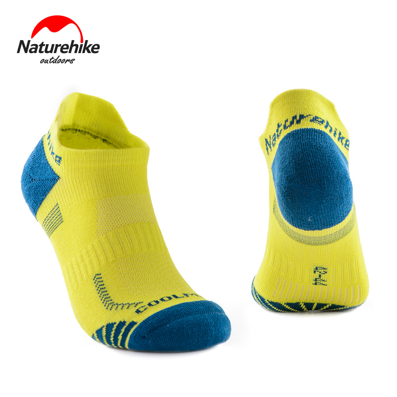 2 Pairs Naturehike Factory Sell Outdoor Sport Socks Quick-Drying Running Coolmax Socks
