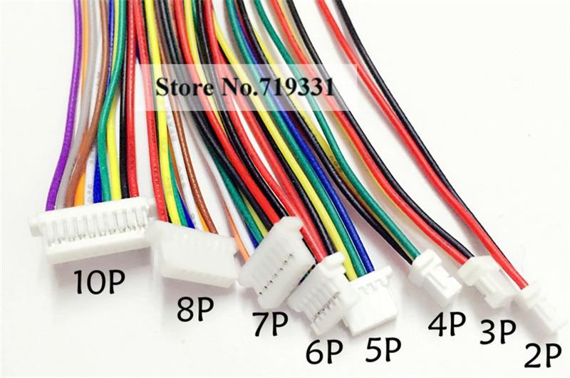 20pcs SH 1.0mm 1.0 2/3/4/5/6-Pin Female Connector with cable агхора 2 кундалини 4 издание роберт свобода isbn 978 5 903851 83 6