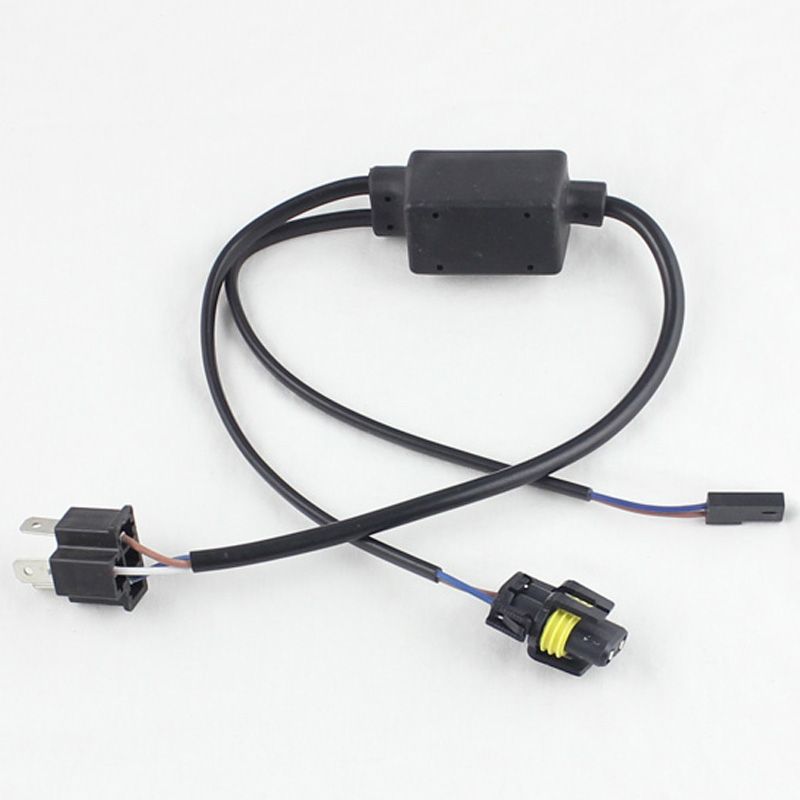 HID H4 H L socket wiring harness controller Bi xenon cable wires H4 3 9003 HB2 aliexpress com buy hid h4 h l socket wiring harness controller Custom Auto Wire Harness H4 at aneh.co