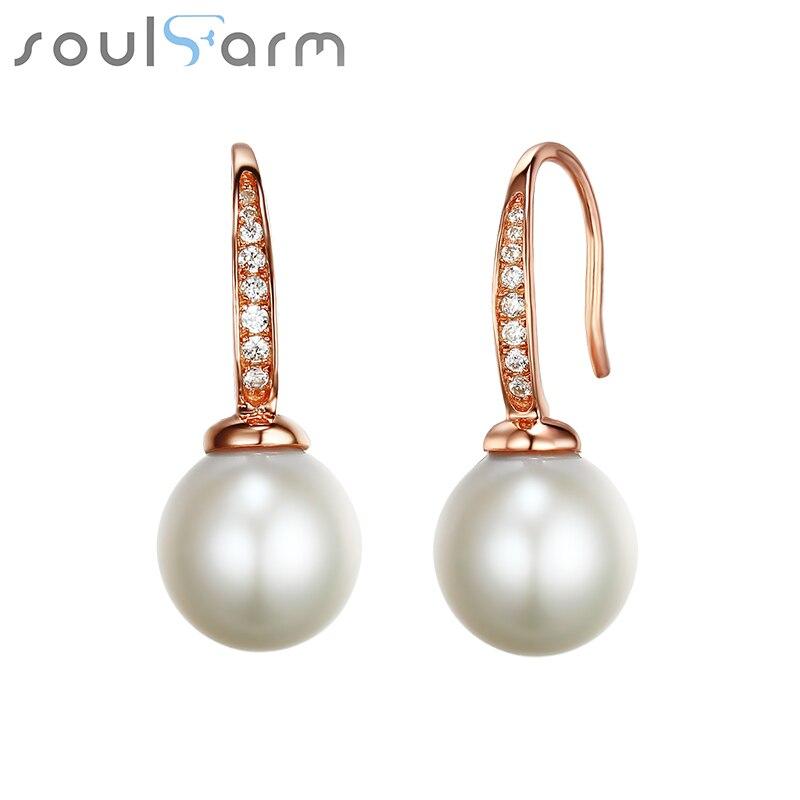 Romantic natural freshwater pearl earrings fine jewelry 925 sterling sliver earrings for women luxury engagement pearl earrings sliver faux pearl drop earrings