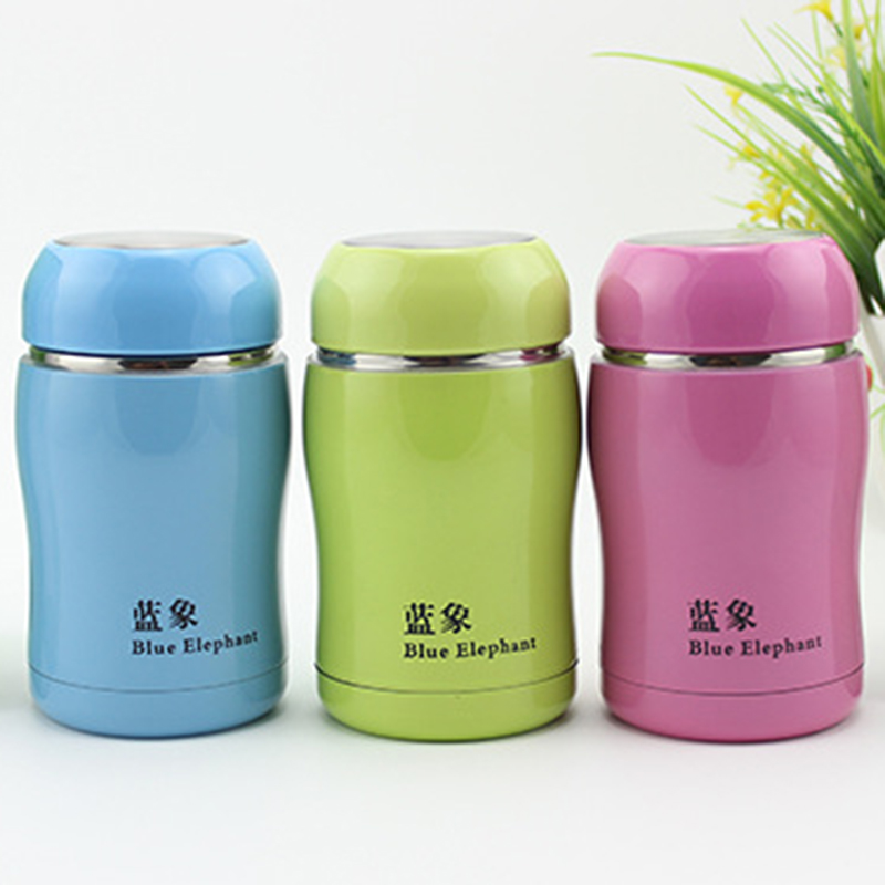 Cute Belly Thermos Mug Stainless Steel Vacuum Thermal Cup
