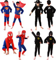 2016 Special Halloween Costume For Kids Long-Sleeve Pokemon Kids Clothes Set O-Neck Superman Costume Halloween