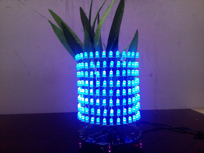 LED Music spectrum display  LED  display Rhythm lamp Electronic DIY kits Soldering Kits DIY Brain-training Toy led tower display rhythm lamp with infrared remote control electronic diy kits soldering kits diy brain training toy