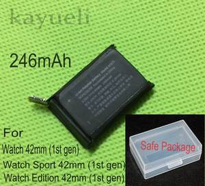 kayueli 246mAh 0.93Wh Replacement Battery for Apple Watch