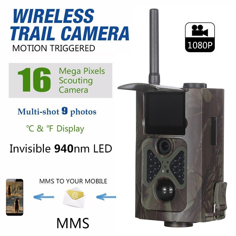 HC-550G 16MP Digital Wildlife Hunting Camera 3G Net Wireless 120 degree Scouting Trail Camera Video Recorder bestguarder sy 007 360 degree wireless hunting trail