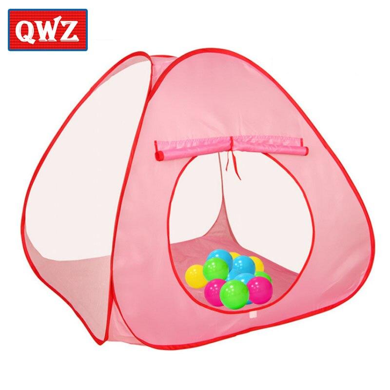 qwz nios nios juegan tiendas jardn al aire libre plegable porttil beb tienda de juguetes nia princesa castle casa tienda d