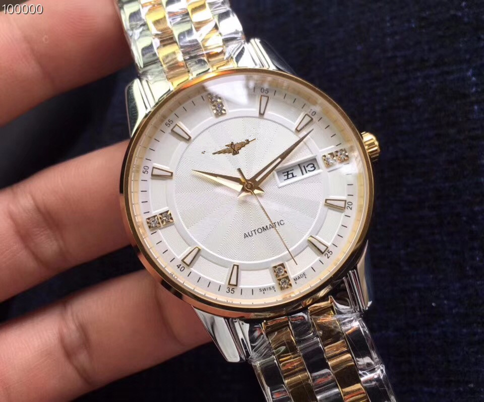 Mens Watches Top Brand Runway Luxury European Design Automatic Mechanical Watch S0803