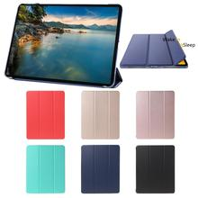 Casual Auto Sleep/Wake Tablet Protective Cover Durable Leather Smart Folding Folio Case Stand for