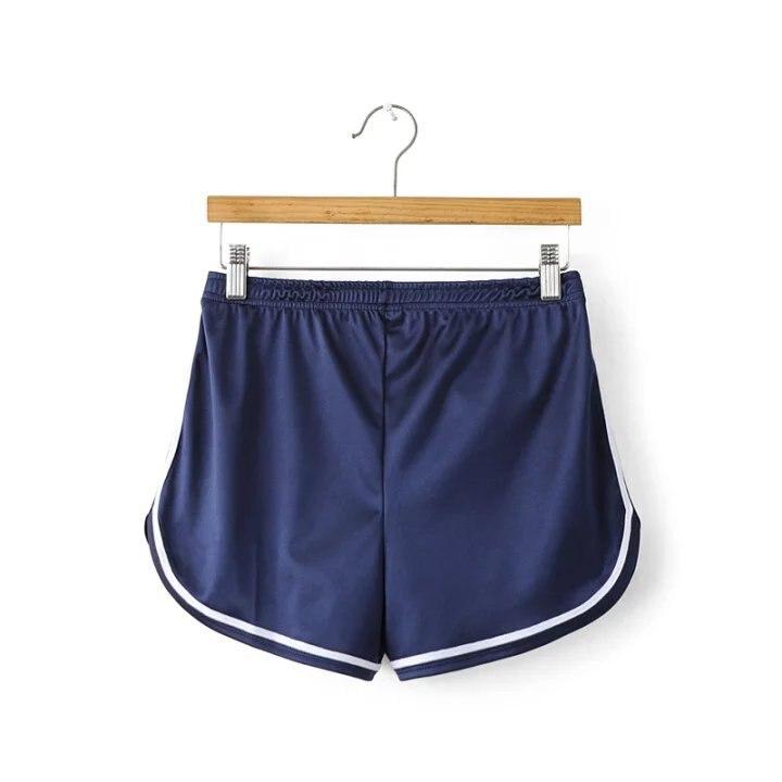 Новинка, женские шорты, летние, шелковые, тонкие, пляжные, повседневные, белые, Egde шорты, Хит