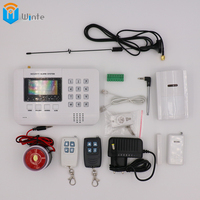 Security GSM Alarm System GSM Alarm System Home Security Alarm Systems LCD Keyboard With Sensor Alarm