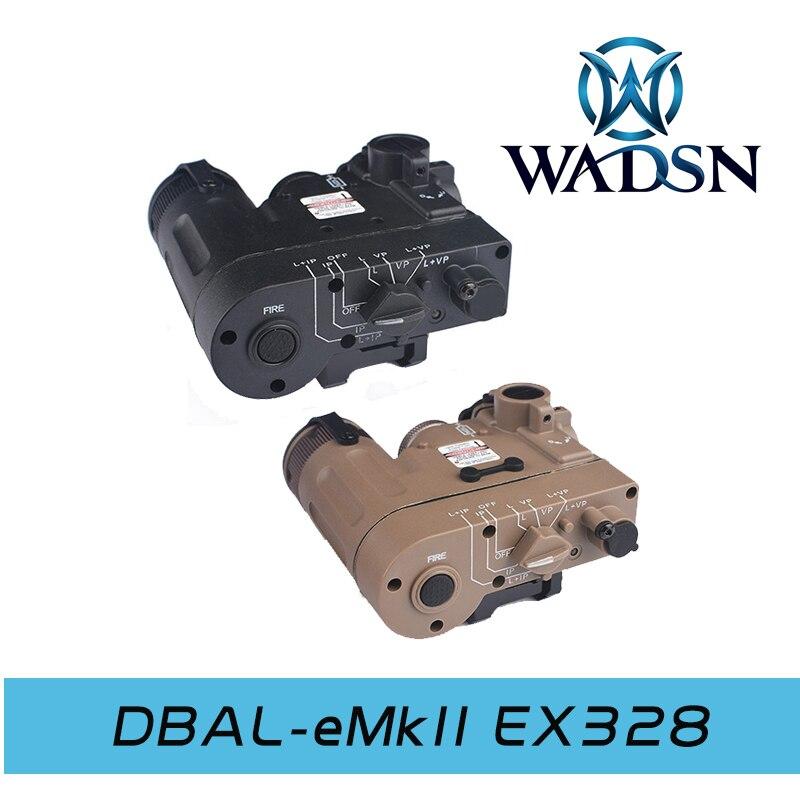 DBAL-D2 Illuminator Multifunction Weapon Lights IR Laser Tactical Flashlight Made by WADSN WEX328