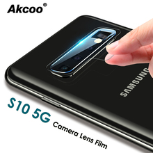 Akcoo S10 5G Camera Lens films Ultra Slim High Definition for Samsung Galaxy S8 9 10 Note 8 9 10 Pro 5G Camera lens protector цены онлайн
