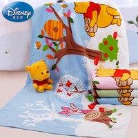 Disney Winnie the Pooh Cotton Bath Towel Cartoon Gauze Bath Towel Cotton Children's Towel 70*140cm