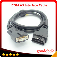 For BMW ICOM NEXT A3 Diagnostic Programming Interface Cable OBD2 16pin to 15pin Car Cable ICOM A3+B+C Coding Connect A3 Cables
