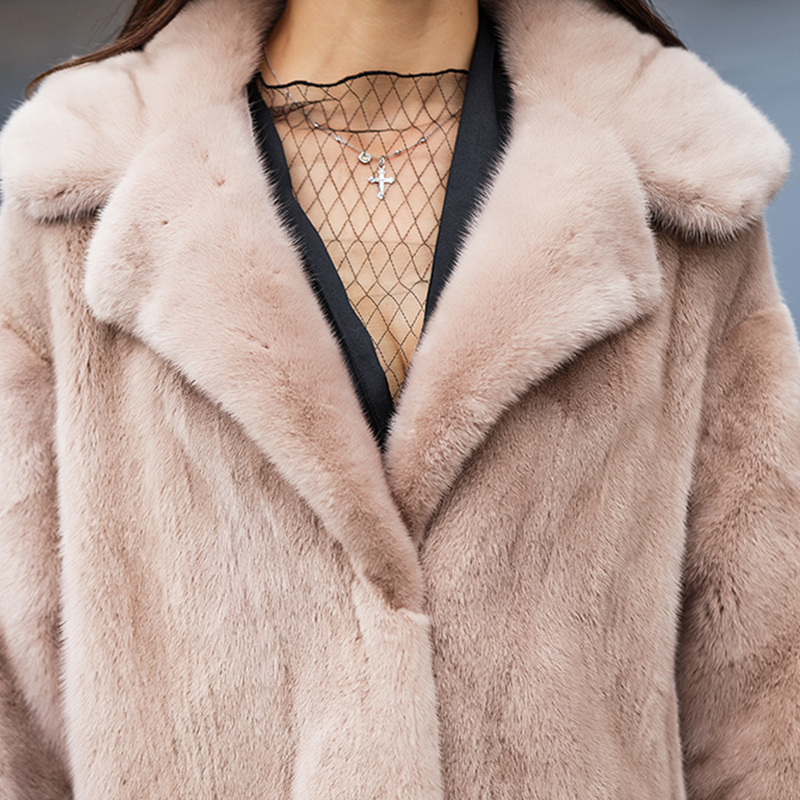 2017 Manteau Plus Vogue Manches dark Parka Vison Max Capuchon Plein Femmes Réel À Slim Powder Long Green Streetwear Avec Hiver De Khaki Taille Vestes Fourrure xqwaPU68