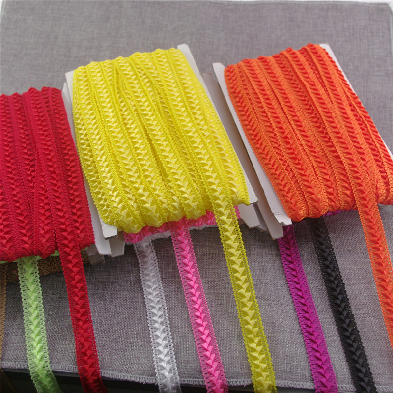 20yards/lot 9kinds color Width 17mm Lace Ribbon apperal sewing Net Lace Trim For DIY Decoration dress clothing sewing