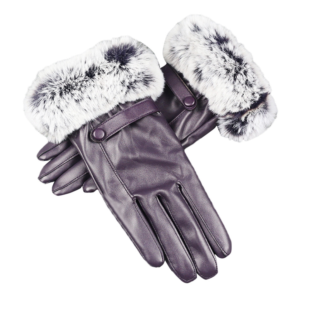 Back To Search Resultsapparel Accessories Womail Women Leather Gloves Autumn Winter Warm Rabbit Fur Gloves Mittens Fashion Womens Winter Super Warm Gloves M301224 Making Things Convenient For The People