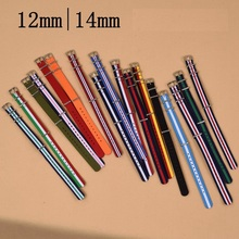 1pcs Nato Strap 12mm 14mm Nylon Watch Band Waterproof