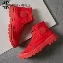 Women Shoes Outdoor Army Boots Classic Canvas Shoes Women Ankle Boots Lace Up Women High Top Canvas Shoes Boots Military Desert