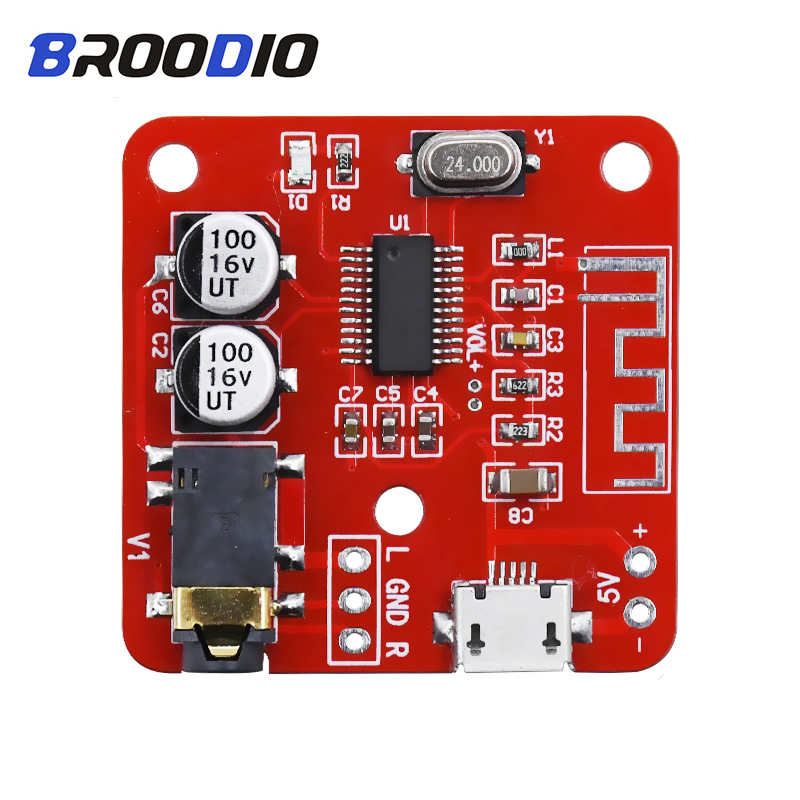 MP3 Bluetooth Decoder 4.2 Lossless Audio Decoding Player Board DIY Car Accessories Sound Amplifier Module For Speakers Stereo