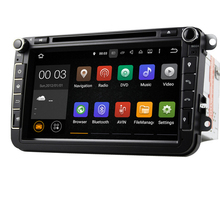 Quad core Android 5.1 8″ Car DVD Player with GPS System For VW Skoda POLO GOLF 5 6 PASSAT CC JETTA TIGUAN TOURAN Fabia Caddy