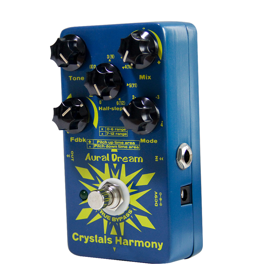 Aural Dream Crystals Harmony Effects Guitar Pedal So As To Produce Two Sounds On Different Time Point 4 Different Models
