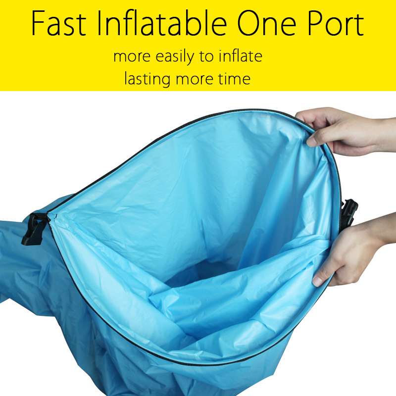 Pleasing New Style Fast Inflatable One Port Camping Sofa Banana Ncnpc Chair Design For Home Ncnpcorg