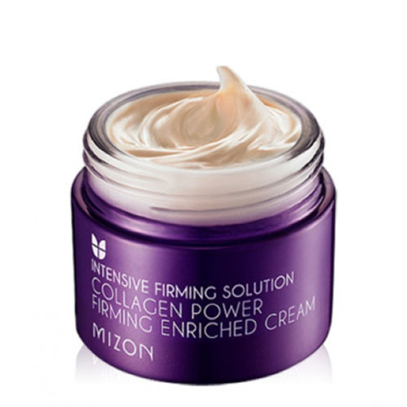 MIZON Collagen Power Firming Enriched Cream Face Care Anti-wrinkle Firming Skin Care Whitening Nourishing Facial Cream Ageless mizon collagen power lifting cream 75ml face skin care whitening moisturizing anti aging anti wrinkle korean facial cream