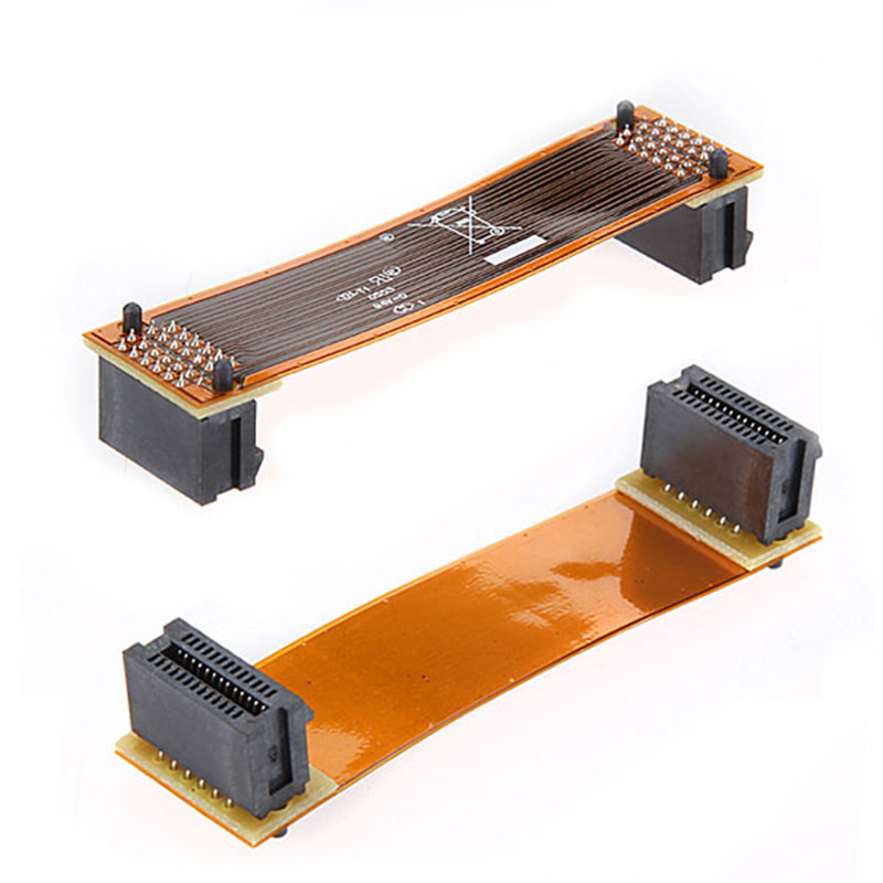 High Quality Flexible 8cm 80mm 3 SLI Bridge PCI-E Cable Video Card Connector Adaptor For ...