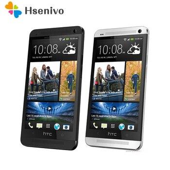 HTC One M7 Refurbished- Original Mobile Phone ONE M7 2GB RAM 16GB ROM Smartphone 4.7 inch Screen Android 5.0 Quad Core phone 1