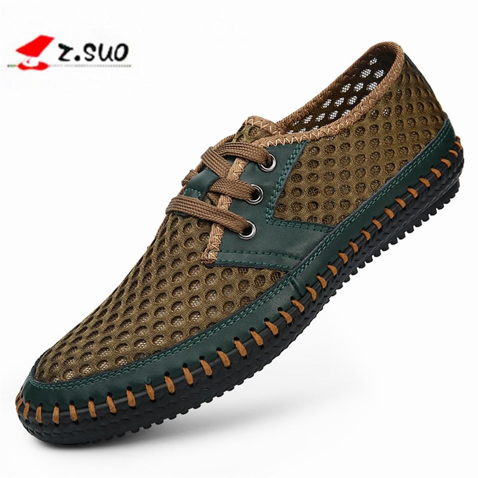 Men Sandals New 2017 Brand Genuine Leather Summer Men'S Sandals Casual Breathable Handmade Men Shoes Fashion Sandales Sandalias