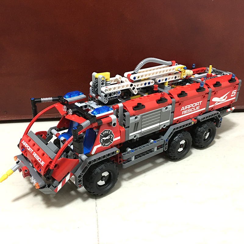 Lepin 20055 514pcs Technic series Mechanical Series The Rescue Vehicle Building Blocks Bricks Toys For Children Compatible 42068  энкор 20055 g 250