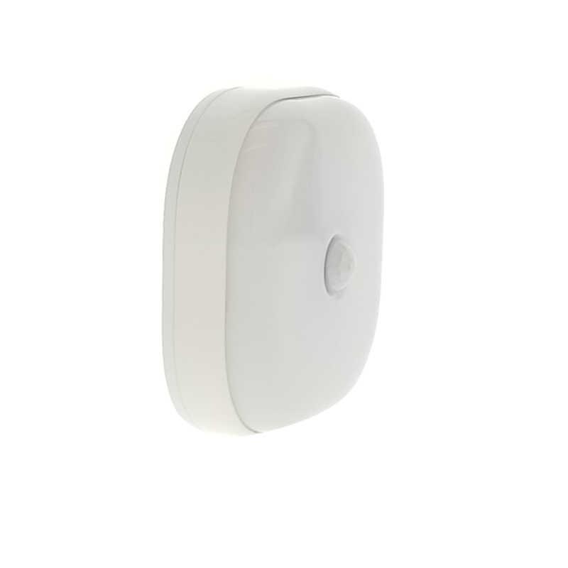 Светодиодный датчик ночного света Двойной индукции PIR инфракрасный датчик движения лампа Магнитный инфракрасный настенный светильник шкаф лестницы свет