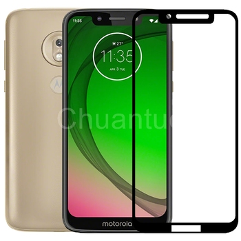 75 Pcs/Lot 2.5D Premium Tempered Glass for Moto G7 Play Full Coverage Screen Protector Protective Film for Motorola Moto G7 Play