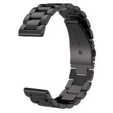 22mm pulseira de relógio de aço inoxidável para samsung galaxy 46mm cinta de metal de aço inoxidável para galaxy pulseiras de relógio 42mm 20mm cinta