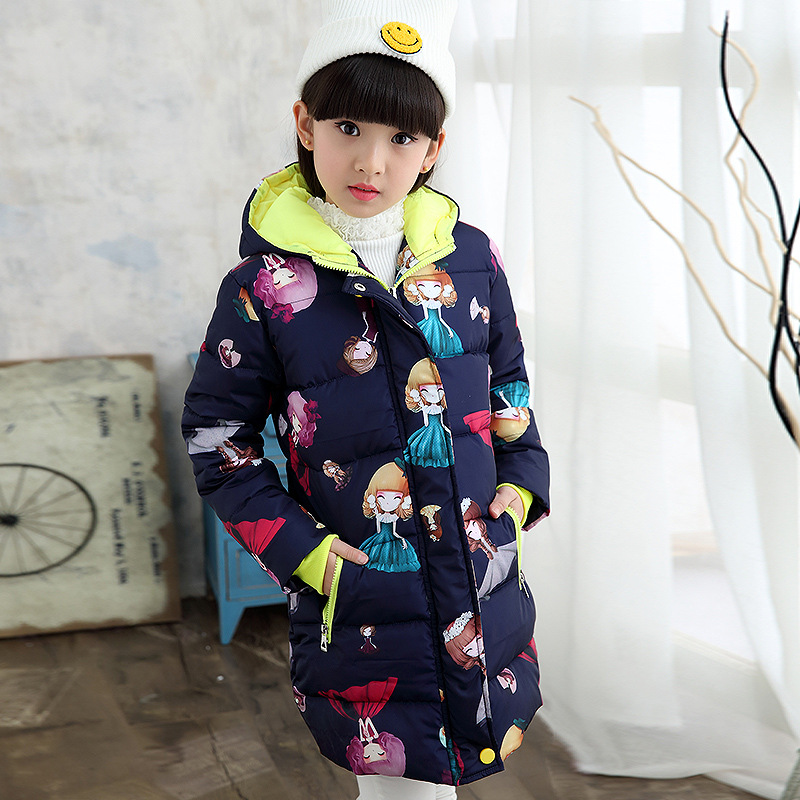 jackets cartoon outerwear 4-14Y