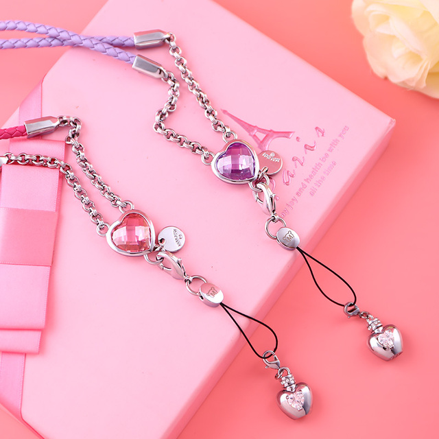 MILESI Fashion Lady Phone Hung Chain Suitable for all kinds of Phone Case Creative Valentine's Couple Gift s0169