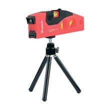 Лазерный уровень MATRIX 35022 (дальность лазерной линии 10 м, дальность лазерной точки 50 м, аккумуляторные батареи 2хААА, штатив в комлекте)