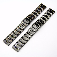 ceramic watch strap For Samsung galaxy 46 42 gear s3 Band For Amazfit Bip Pace Smart Watch ceramic strap High quality