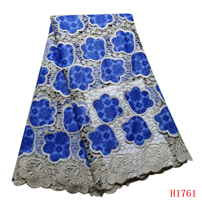 Best Sellling African guipure cord Lace Fabric High quality Nigerian Lace Fabric For Women New Design