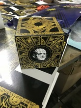 Terror Film Hellraiser Serie Lament Configuration Puzzle Box Cube Fully Functional Pinhead Prop Model Figure Toys