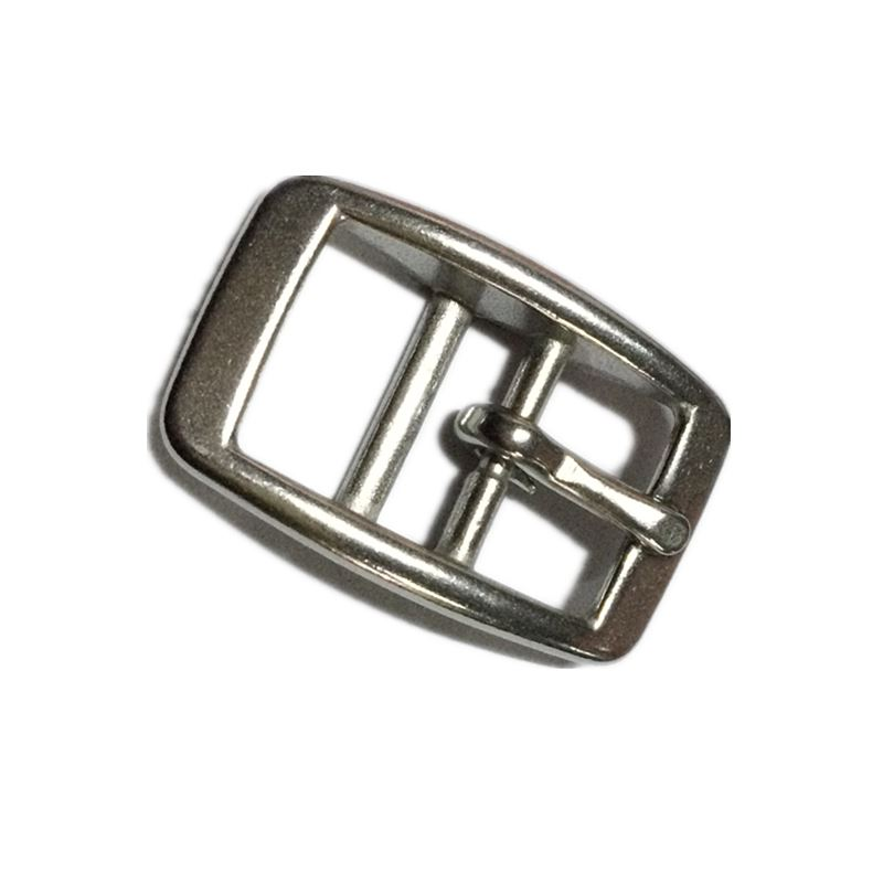 50 Pieces Per lot Stainless Steel Horse Halter Buckle Saddlery Fitting 17mm Leather Bucklebridle Buckle Free