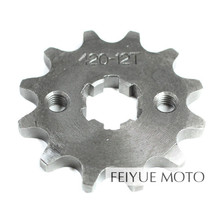 Front Sprocket Chain 420-12T 50cc 125cc Motorcycle ATV Engine Parts