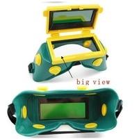 Fora ajustar Grande vista eara 4 sensor de moagem de corte de Energia Solar auto escurecimento arc TIG MIG MMA máscara de solda/capacete cap/soldador/máscara facial