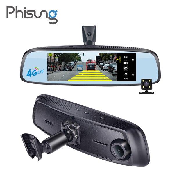 Phisung E09 7 84 4g Special Bracket Car Camera Mirror Android Gps Dvr With Two Cameras Wifi Dash Cam Adas Remote Video Recorder